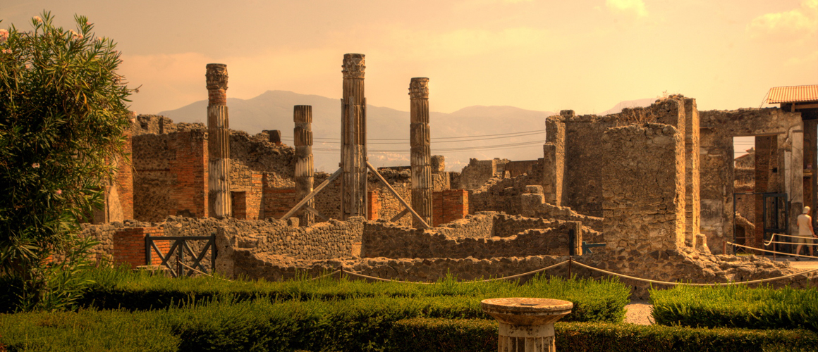 Pompeii, the most attractive and famous archaeological site in the world
